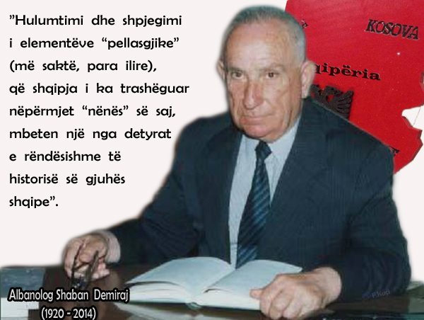 Albanolog_Shaban_Demiraj