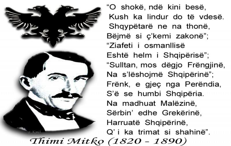 Thimi Mitkoja njëri ndër veprimtarët e shquar të Rilindjes Kombëtare